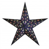 """Papierstern """"Starlet midnight blue"""""""