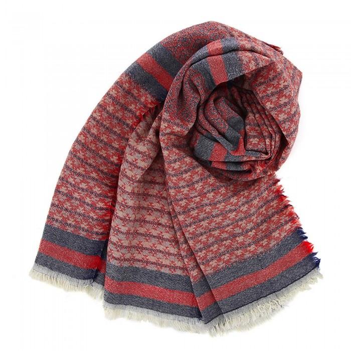 Schal aus Wolle/Baumwolle Reyna