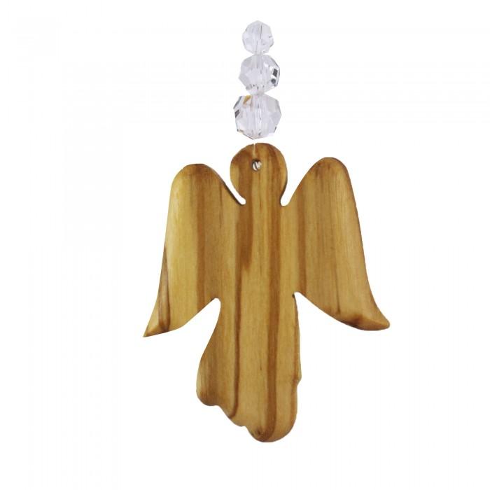 Fensterdeko Engel mit 3 Perlen, Mobile
