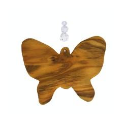 Fensterdeko Schmetterling mit 3 Perlen, Mobile