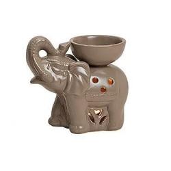 Duftlampe aus Keramik Elefant braun