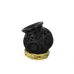 Handgemachte mini Deko Vase Ollita aus Mexiko
