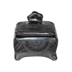 Handgemachte Deko-Schatulle aus Mexiko Nubes
