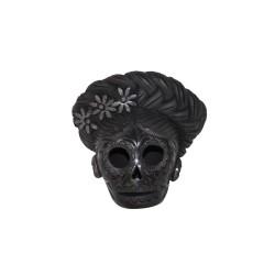 Handgemachte Dekofigur aus Mexiko Totenkopf Muster