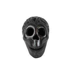 Handgemachte Dekofigur aus Mexiko Totenschädel
