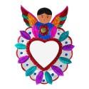 Deko-Wandspiegel Herz mit Engel, Wanddeko