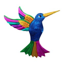 Wandeko Kolibri blau, Dekoanhänger