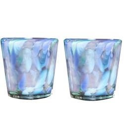 Mexikanischer Gläser V aus mundgeblasenes Glas