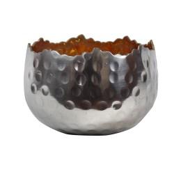 Teelichthalter   Teelichtschale Silvery - golden