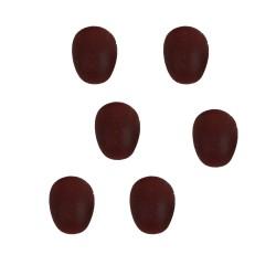 Krippenzubehör 6 Eier braun 0,5cm