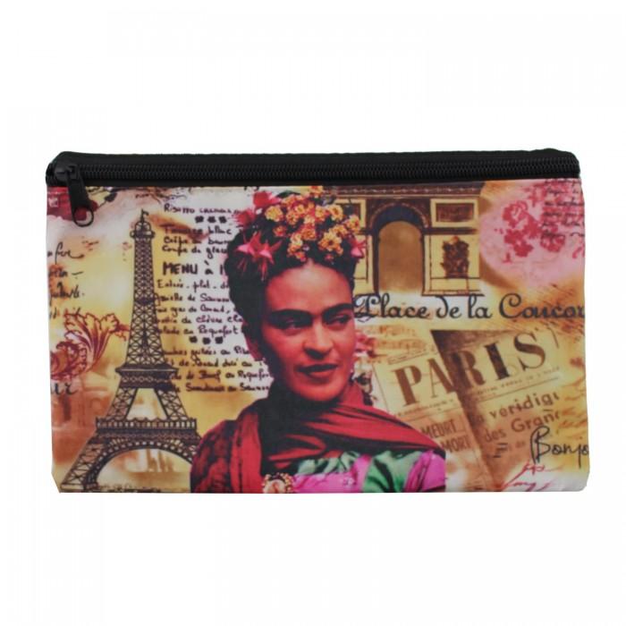 Etui Frida N1 Paris aus Wachstuch
