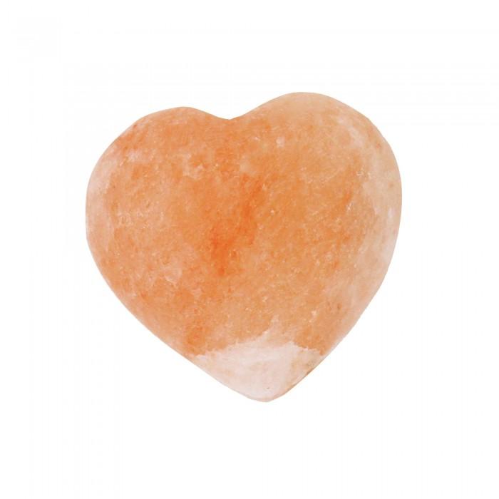 Salzkristall Herz, Deko und Wellness