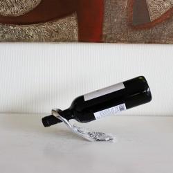 """Weinflaschenhalter aus Zinn """"Trauben"""""""