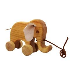 Ziehtier Elefant Bruno