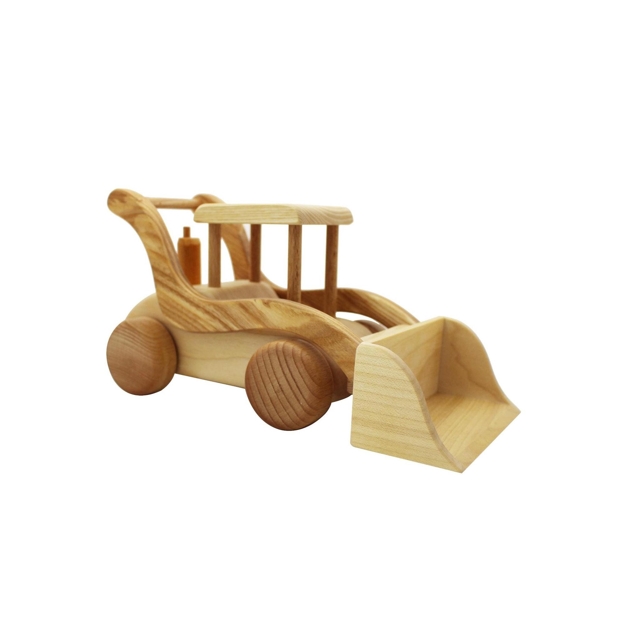 Radlader aus holz spielzeug für kinder ab jahre kaufen