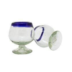 Cognacglas 2er Set | Mundgeblasenes Glas