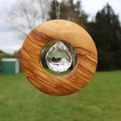 Fensterdeko mit Bleikristall 30mm