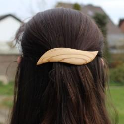 Haarspange Sonja aus Holz, Haarschmuck