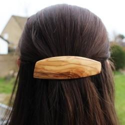 Haarspange Hannah aus Holz, Haarschmuck