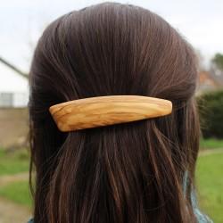 Haarspange Linda aus Holz, Haarschmuck