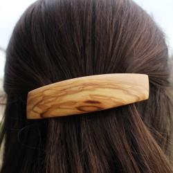 Haarspange Marie aus Holz, Haarschmuck