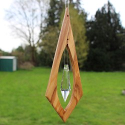 Fensterdeko aus Holz
