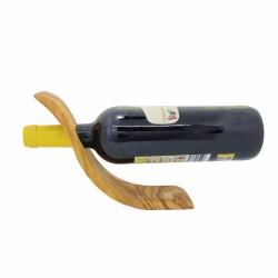 """Weinflaschenhalter """"Welle"""" - Weinflascheständer aus Holz"""