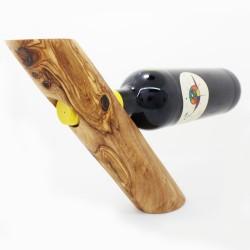 """Weinflaschenhalter """"Stamm"""" - Weinflascheständer aus Holz"""