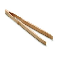 Grillzange aus Holz 46 cm