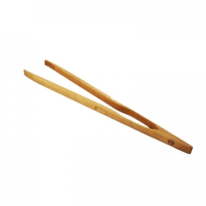 Grillzange groß Zetzsche aus Holz 60 cm