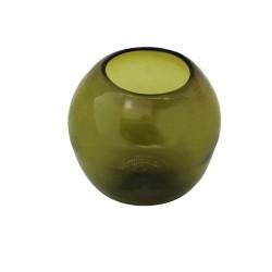 Dekovase Terrarium grün olive
