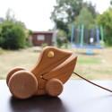 Ziehtier Frosch Emil aus Holz