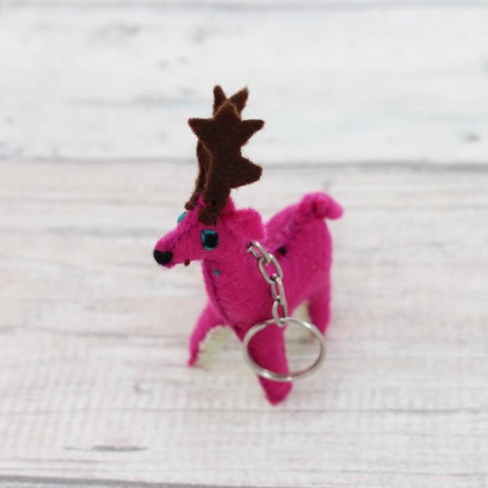 Schlüsselanhänger Reeh pink