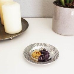 "Teelichthalter Deko Teller klein ""Olan  mini"""