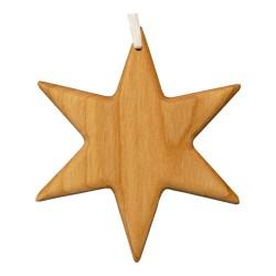 Christbaumschmuck aus Holz - Stern