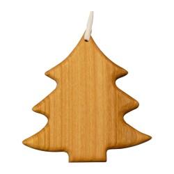 Christbaumschmuck aus Holz - Tanne