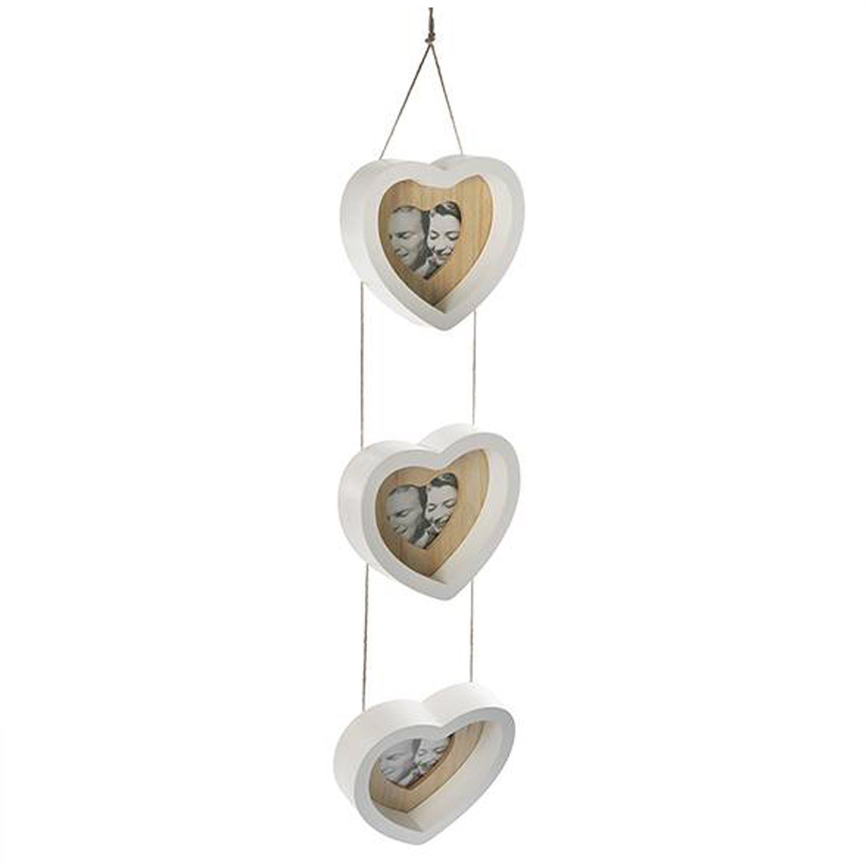 Bilderrahmen Herz | 3er Herz Fotorahmen kaufen