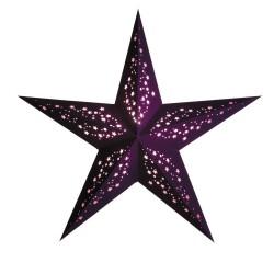 """Papierstern """"mia violet"""" Weihnachtsstern"""