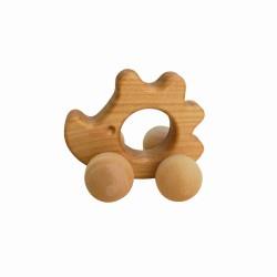 Greifling Ente aus Holz