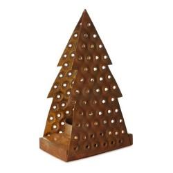 Teelichthalter Baum Weihnachtsdeko