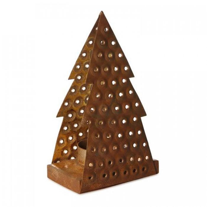 Weihnachtsdeko Aus Metall.Teelichthalter Tannenbaum 15cm Weihnachtsdeko Kaufen
