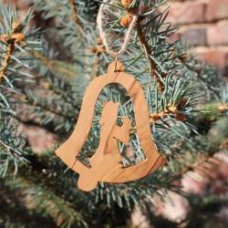 Christbaumschmuck Glocken Maria und Jesus