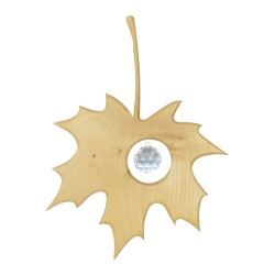 Fensterdeko Ahornblatt mit 20mm Kugel
