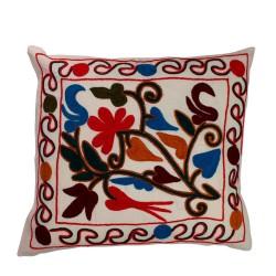 Türkische Sofakissen rot - blau