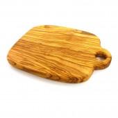 Holzbrettchen mit Loch , Frühstücksbrettchen rustikal