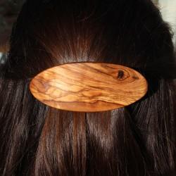 Haarspange aus Holz, Haarschmuck Klara