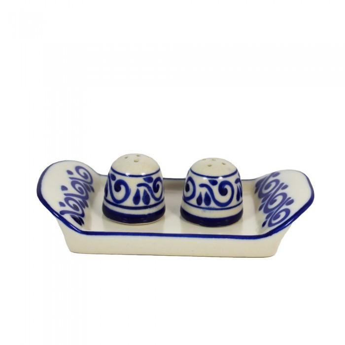 Salz & Pfeffer Talavera-Stil - Handgemacht