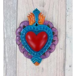Wanddeko Herz Farbe