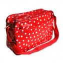 Handtasche Lunares rot | Schultertasche