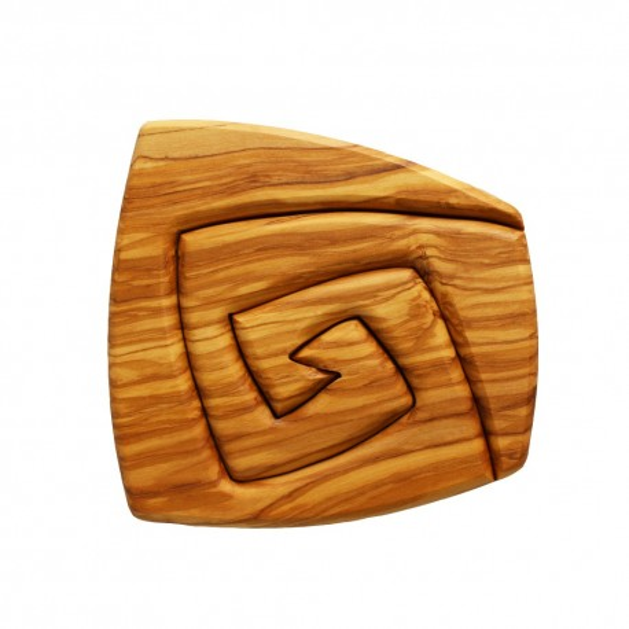 Topfuntersetzer aus Holz